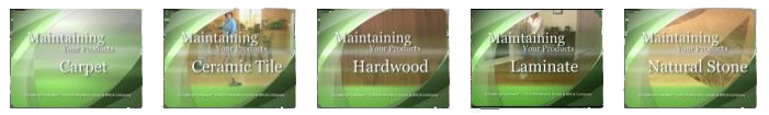 Flooring - Maintenance - Video Series